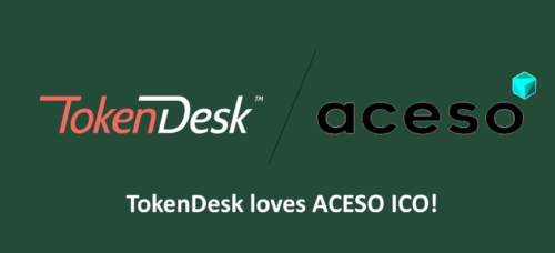 Tokendesk loves ACESO ICO!